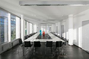 Großer Konferenzraum miete Bonn Rheinblick