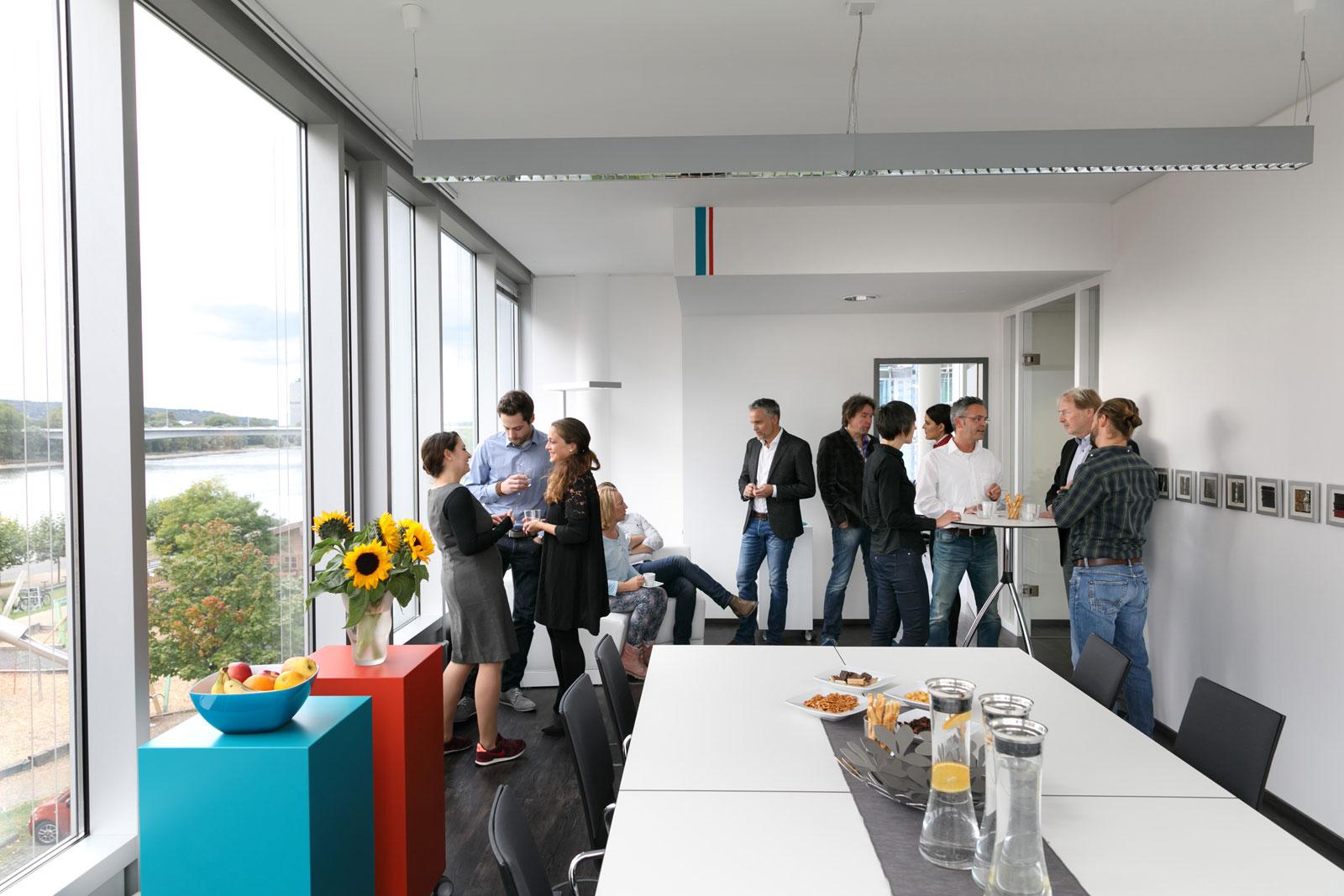Bonn Workshop Raum am Bonner Bogen
